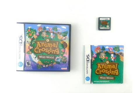 Animal Crossing Wild World game for Nintendo DS (Complete ...