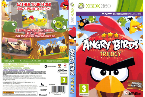Angry Birds Trilogy - Xbox 360 - Ultra Capas