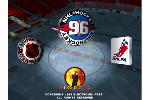 NHL 96 (1995) by EA Sports MS-DOS game