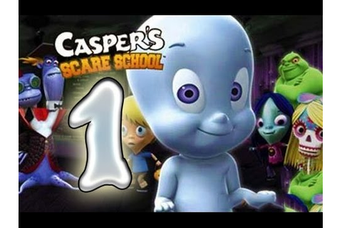 Casper's Scare School (PS2) Walkthrough Part 1 - YouTube