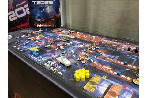 T2029 An Official Terminator 2: Judgment Day Board Game ...