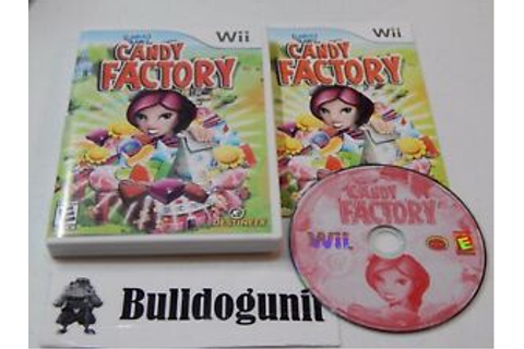 Candace Kane's Candy Factory Nintendo Wii Complete Game ...