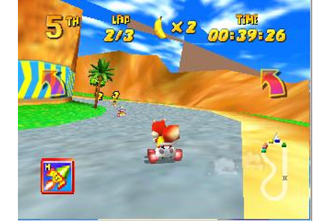 Diddy Kong Racing Nintendo 64 Game