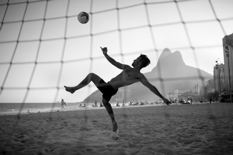 World Cup: The beautiful game - street football in Rio ...