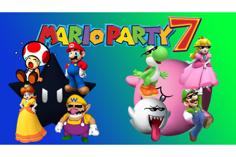 Mario Party 7 8 PLAYER Part 2-THE DARK STAR - YouTube