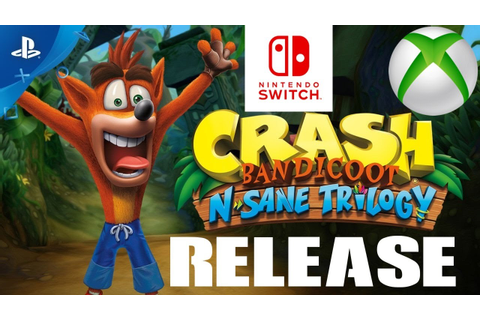 Crash Bandicoot N. Sane Trilogy Xbox One Nintendo Switch ...