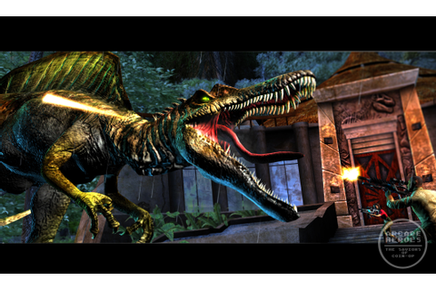 Arcade Heroes Q&A On Jurassic Park Arcade With Eugene ...