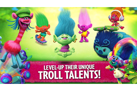 Trolls: Crazy Party Forest! 3.6.0 APK + OBB (Data File ...
