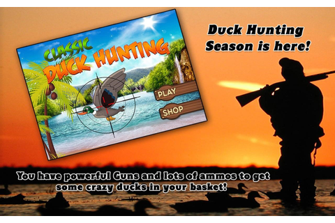 Classic Duck Hunting Alternatives and Similar Games ...