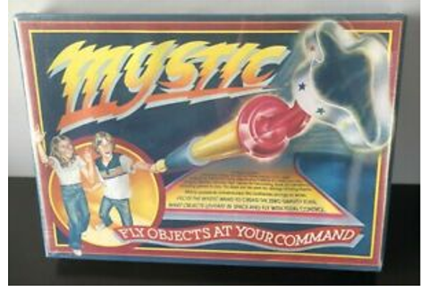 1981 NOS Vintage Mystic Fly Objects Zero Gravity Wand Game ...