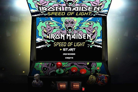 Iron Maiden Launch Free 'Speed of Light' Video Game