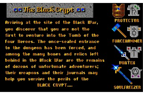 Black Crypt Game Download