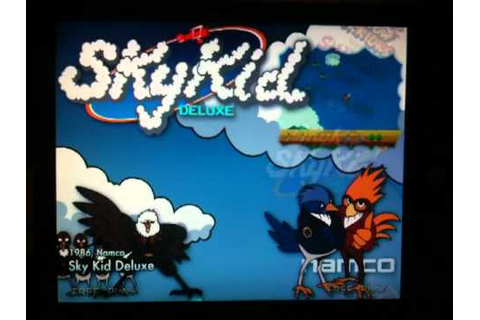 Sky Kid Deluxe Hyperspin Theme - YouTube
