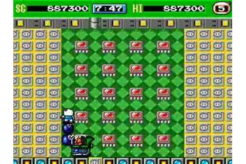 Bomberman 93' (TG16/PC Engine) Complete 8/8 - YouTube