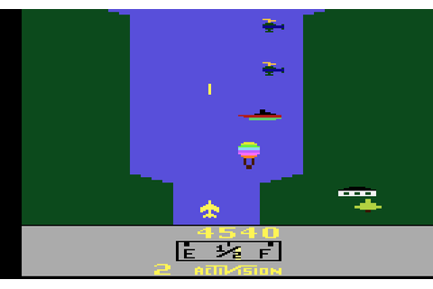 AtariAge - Atari 2600 Hacks - River Raid Plus