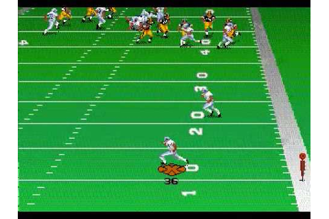 Madden NFL 97 (Genesis)-Gameplay - YouTube
