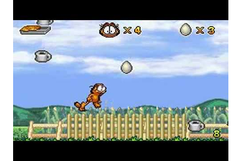 Garfield et ses Neuf Vies sur GameBoy Advance - YouTube
