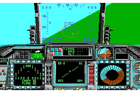 Download F-16 Combat Pilot vehicle simulation for DOS ...