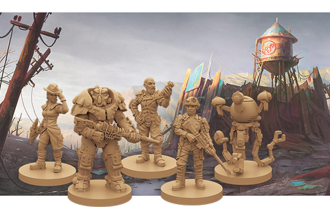 Fallout: New California board game expansion has one PC ...