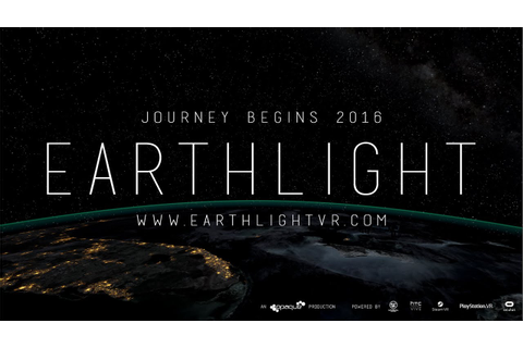 Earthlight 4K 360° Trailer - Earth Day/Night seen from Low ...