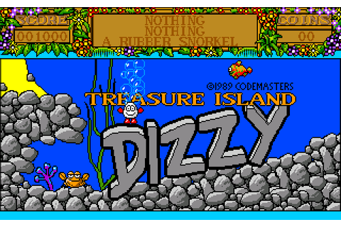 Treasure Island Dizzy (1989) by The Highlanders Amiga game