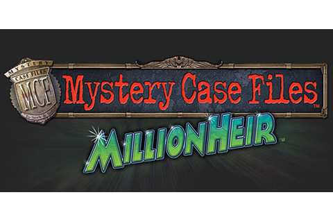 "Mystery Case Files: MillionHeir DS preview - ""Mysteries ..."