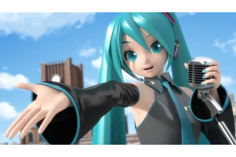 Hatsune Miku Project Diva 2nd Opening Full HD - YouTube