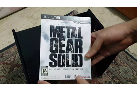 Unboxing Metal Gear Solid The Legacy Collection ( 1080p/S4 ...