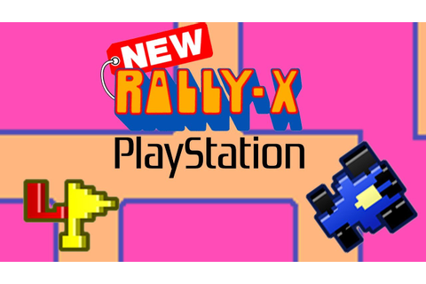 New Rally-X Gameplay (PS1) - YouTube