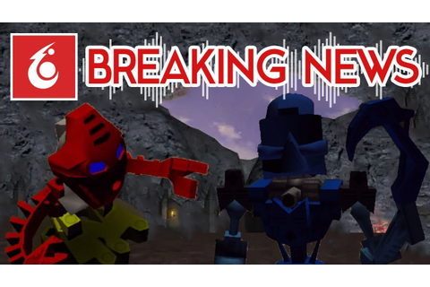 BREAKING NEWS: BIONICLE Legend of Mata Nui RELEASED FOR ...