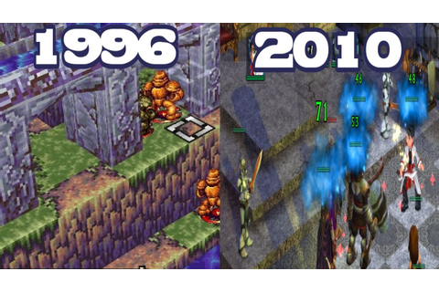 Graphical Evolution of Vandal Hearts (1996-2010) - YouTube