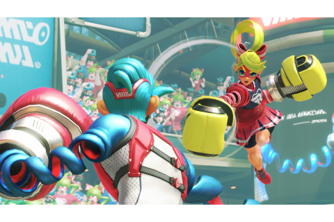 Nintendo Switch Exclusive Arms Characters and Weapons ...