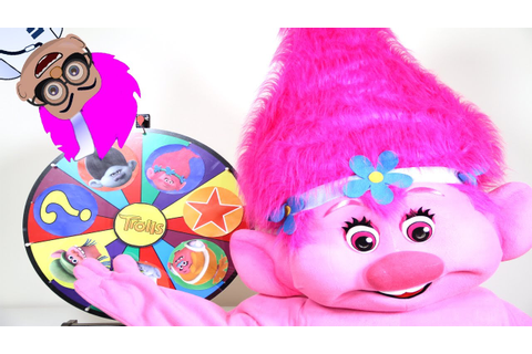 Trolls Movie Poppy Play The Trolls Game In Real Life - Paw ...