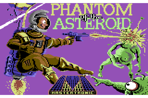 Phantom of the Asteroid screenshots for Commodore 64