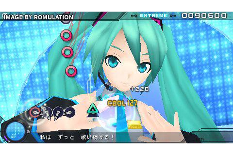 Hatsune Miku - Project Diva Extend (Japan) PSP ...