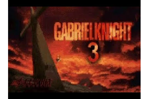 Gabriel Knight 3 - early video Game French Trailer. PC ...