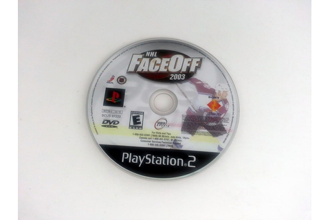 NHL Faceoff 2003 game for Playstation 2 (Loose) | The Game Guy
