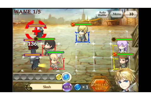 Chain chronicle pure battles game play first look usa ...