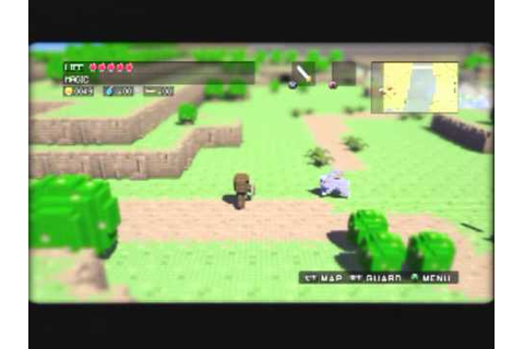 3D Dot Game Heroes (PS3) Gameplay - YouTube