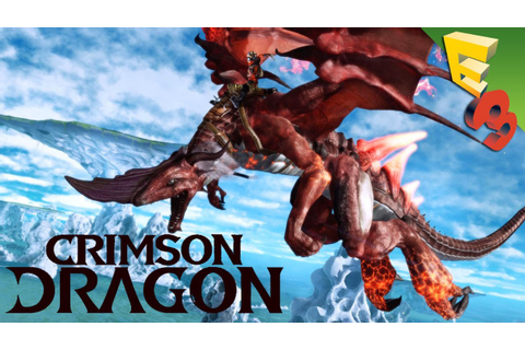 Crimson Dragon GAMEPLAY! Panzer Dragoon's Kinect-Optional ...