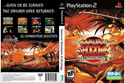 samurai shodown anthology | Capas Games