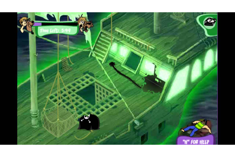 Scooby Doo Game - Horror on the High Seas 4 - Pirate Ship ...
