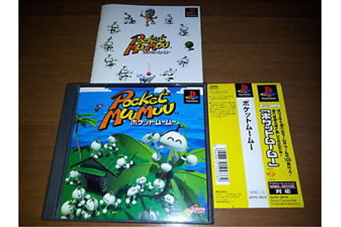 POCKET MUUMUU SONY PLAYSTATION VIDEOGAMES R PS JAP ...