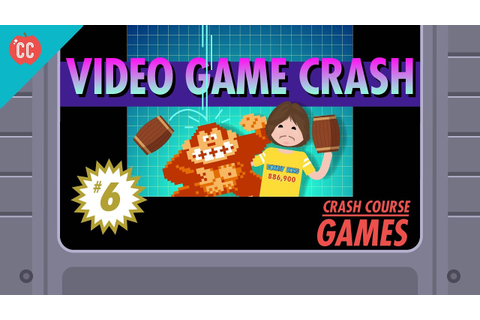 The Video Game Crash of 1983: Crash Course Games #6 - YouTube