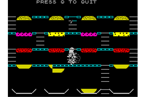 Mr. Wimpy: The Hamburger Game Screenshots for ZX Spectrum ...