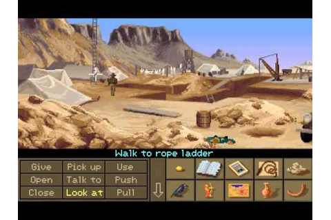 Indiana Jones and the Fate of Atlantis (Jeu PC) - Images ...