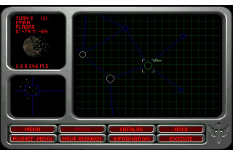 Wing Commander: Armada vehicle simulation for DOS (1994 ...