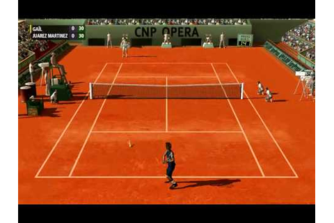 tennis simulator pc game video - Full Ace release - - YouTube