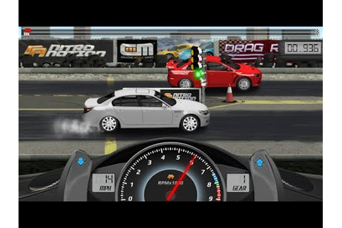 Drag Racing Game for iOS & Android GamePlay - YouTube
