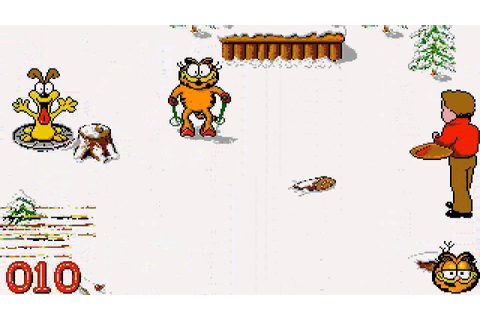 ATARI ST GARFIELD WINTERS TAIL (PROPABLY BUG IN GAME ROM ...